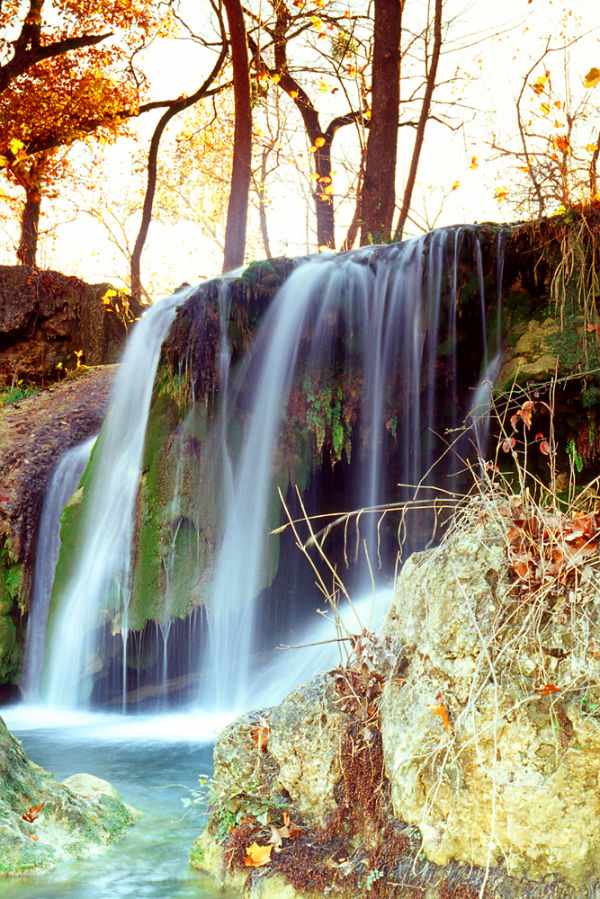 Price Falls nestled in the Arbuckle Mountains