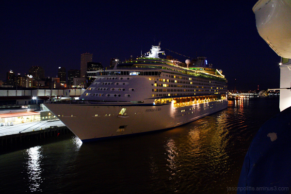 Royal Caribbean Voyager of the Seas in New Orleans
