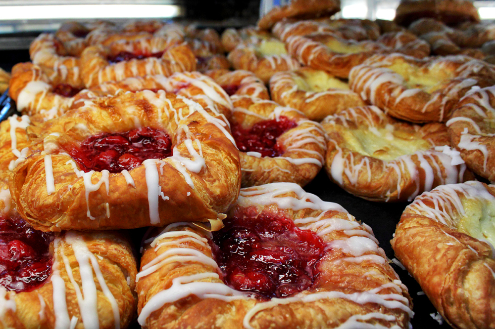 Pastries at Whole Foods Grocery Store