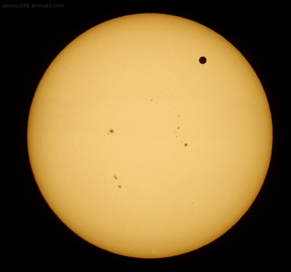 Venus Tranis of the Sun June 5, 2012