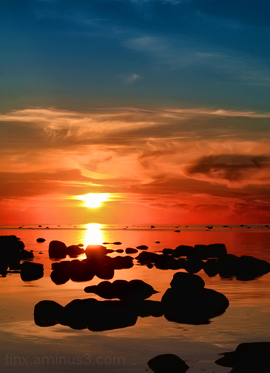 Loojang, Sunset
