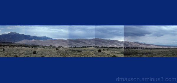 Great Sand Dunes Collage
