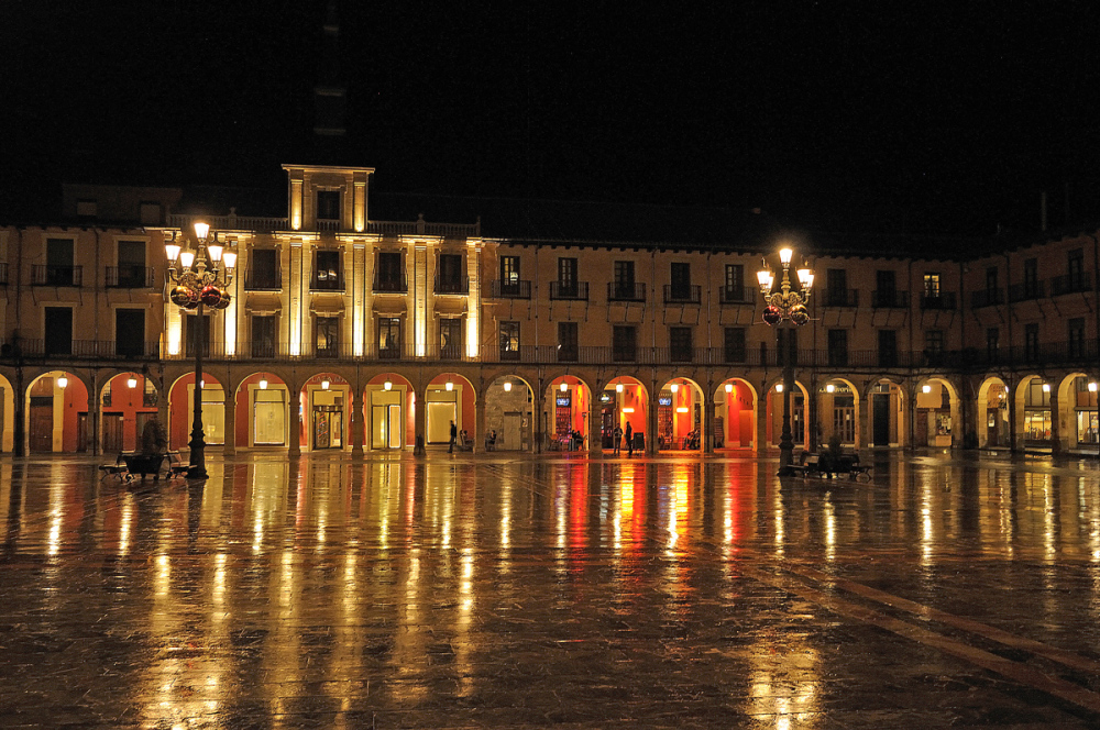 Plaza Mayor. Old square