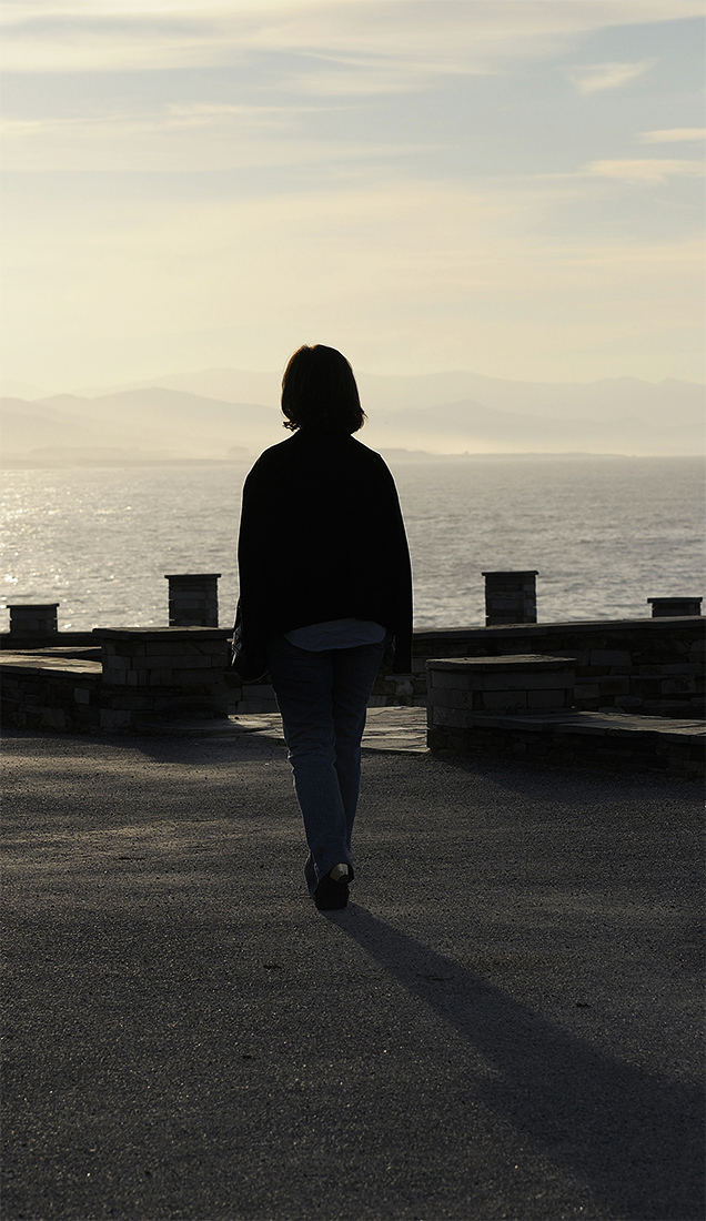 Paseo al atardecer. A walk at sunset