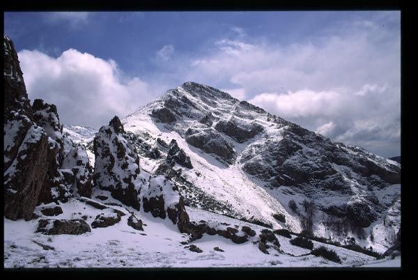 Invierno en los altos. Winter in the heights.