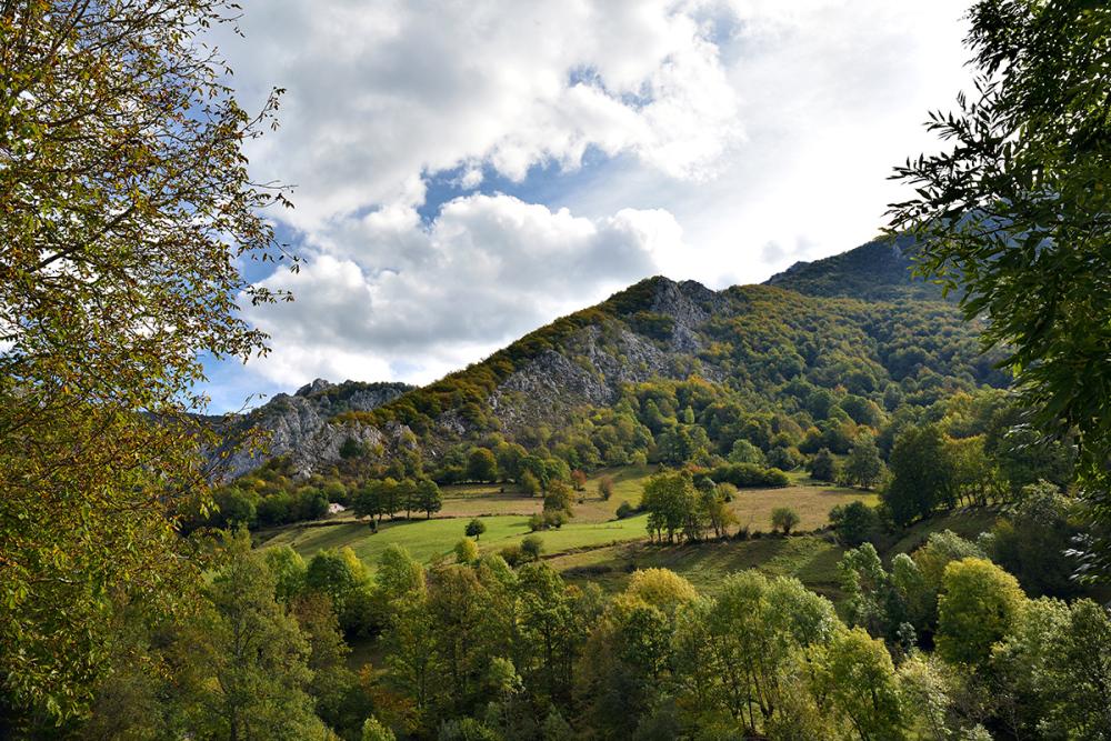 Un paisaje. A landscape.