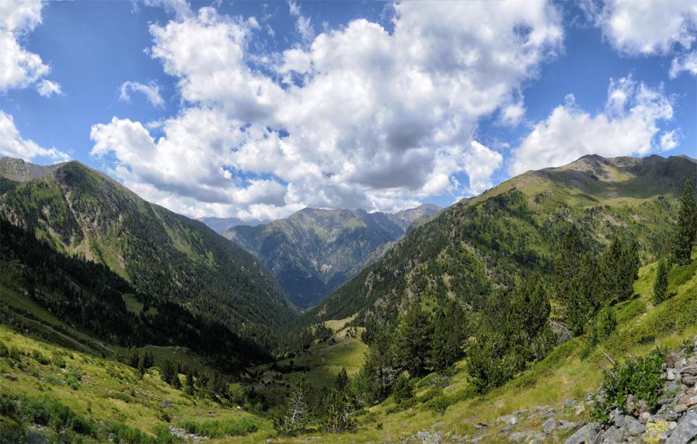 Pirineos. A Pyrenee's landscape