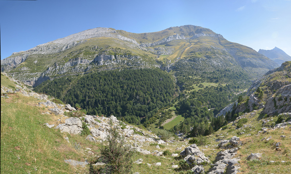 A walk in Gabardito area#2. Pyrenees