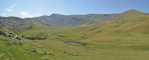 A walk in Gabardito area#3. Pyrenees