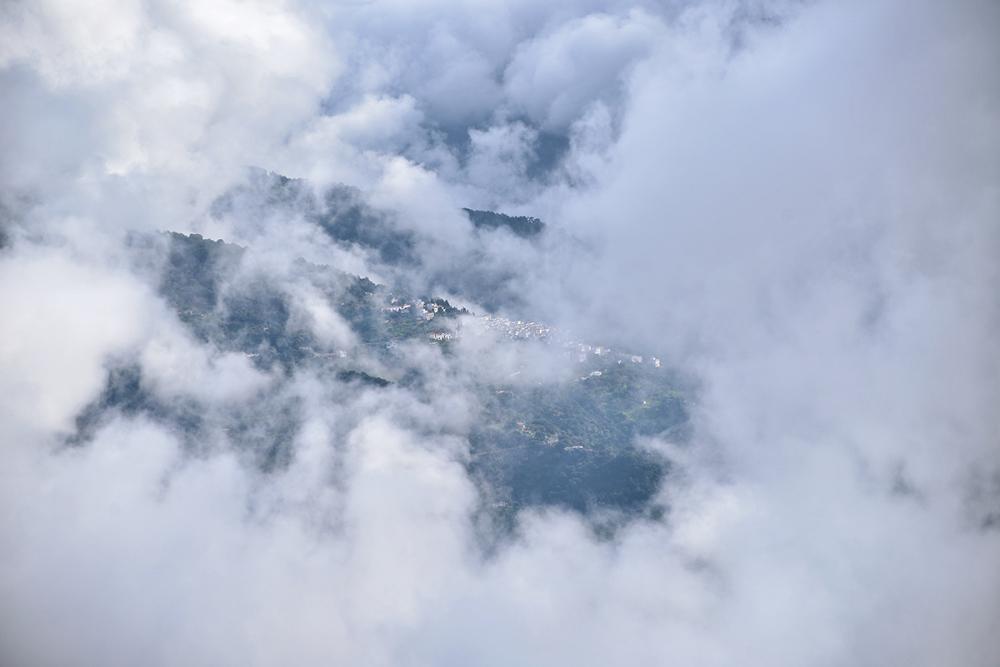 Entre las nubes. Among the clouds #2