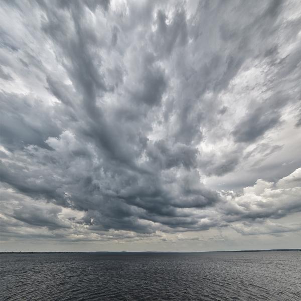 Drama en el cielo. Drama in the sky.