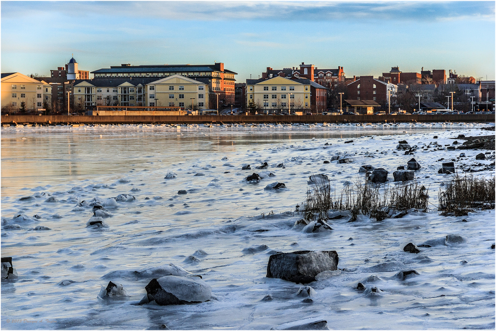 Frozen North River