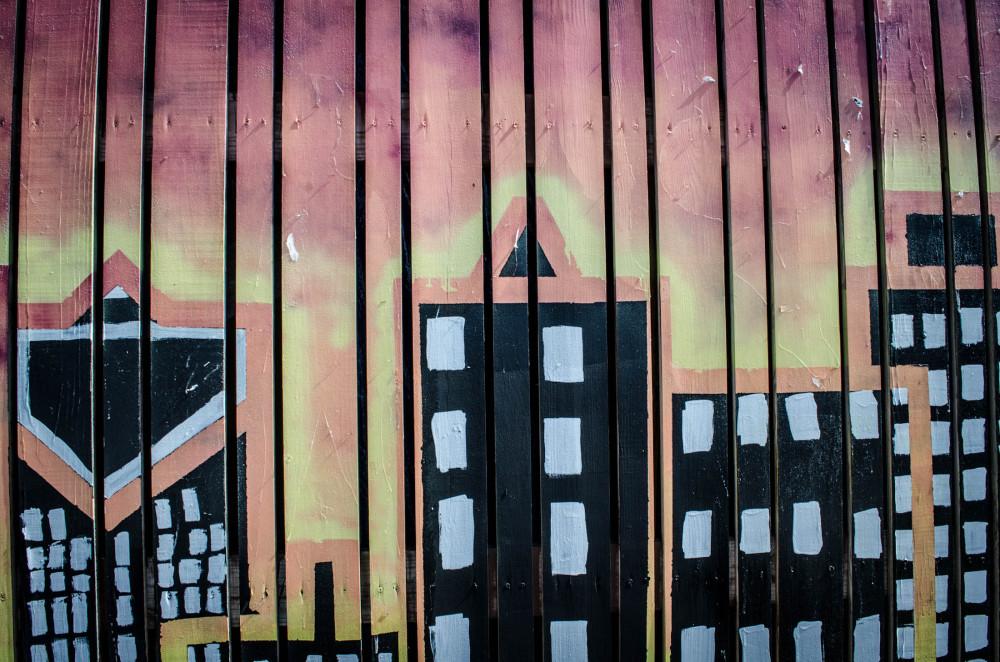 City fence