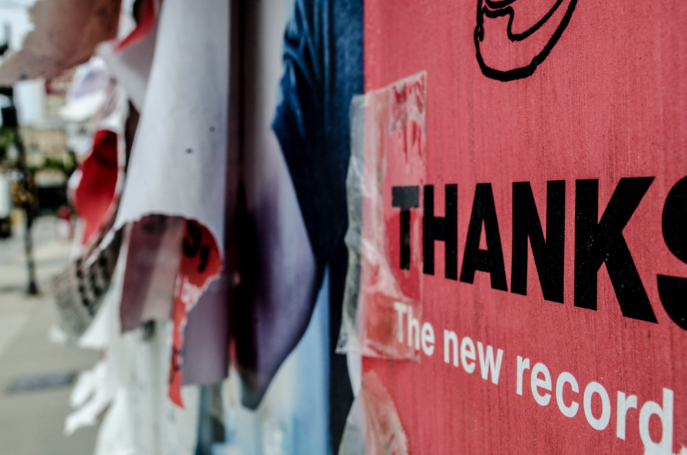 Public thanks