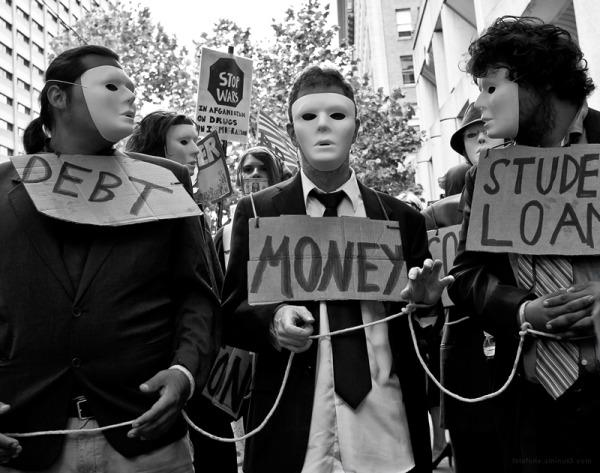 Debt, Money, Student Loans