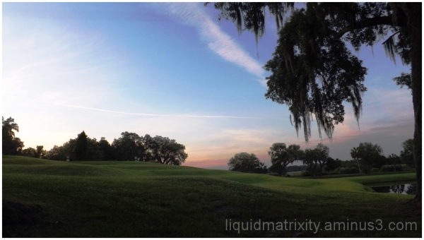Sunset at Middleton Place