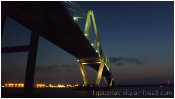 Dusk on the Bridge