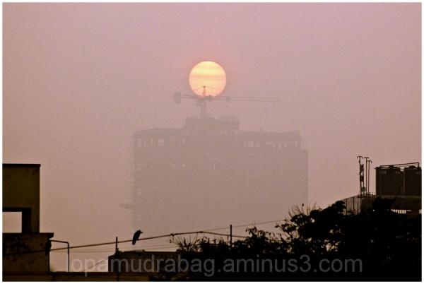A Misty Sunrise