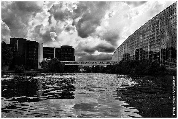 Strasbourg Ill Batorama Parlement européen