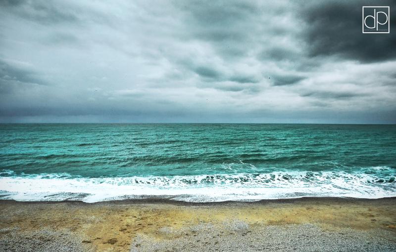 eau mer water sea plage beach horizon Etretat