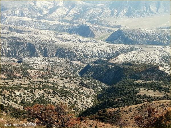 a look at a mountainous area