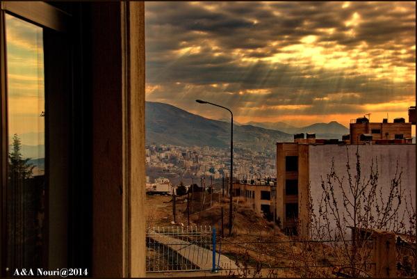 sun show in Tehran