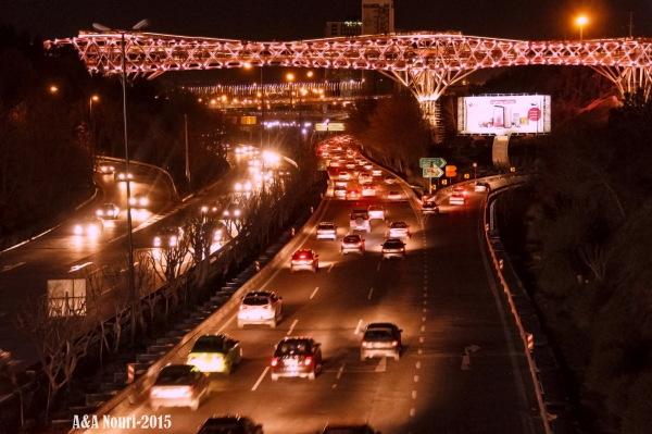 Tehran's nights