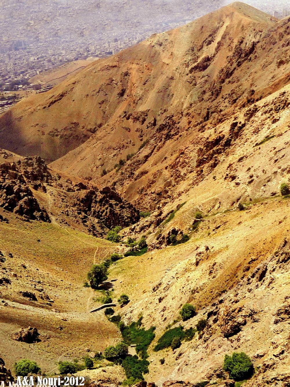 Tehran ' s altitudes