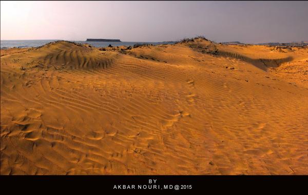 sands neighboring the sea