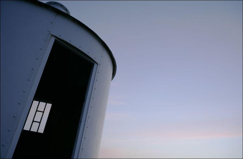 Lighthouse observatory erraid mull scotland
