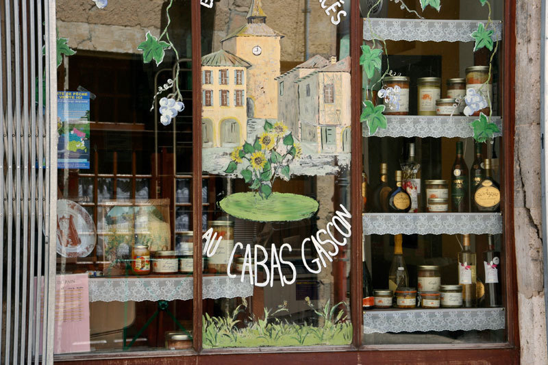 shopwindow for gourmets