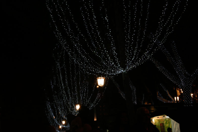 Seville Xmas lighting