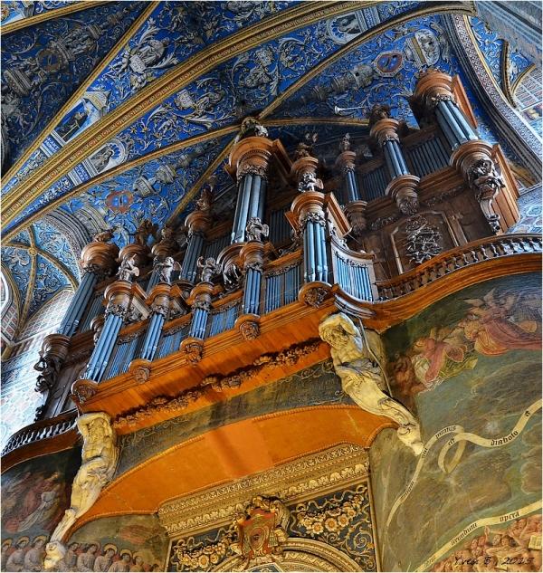 Cathédrale Sainte-Cécile ¤ L'orgue.
