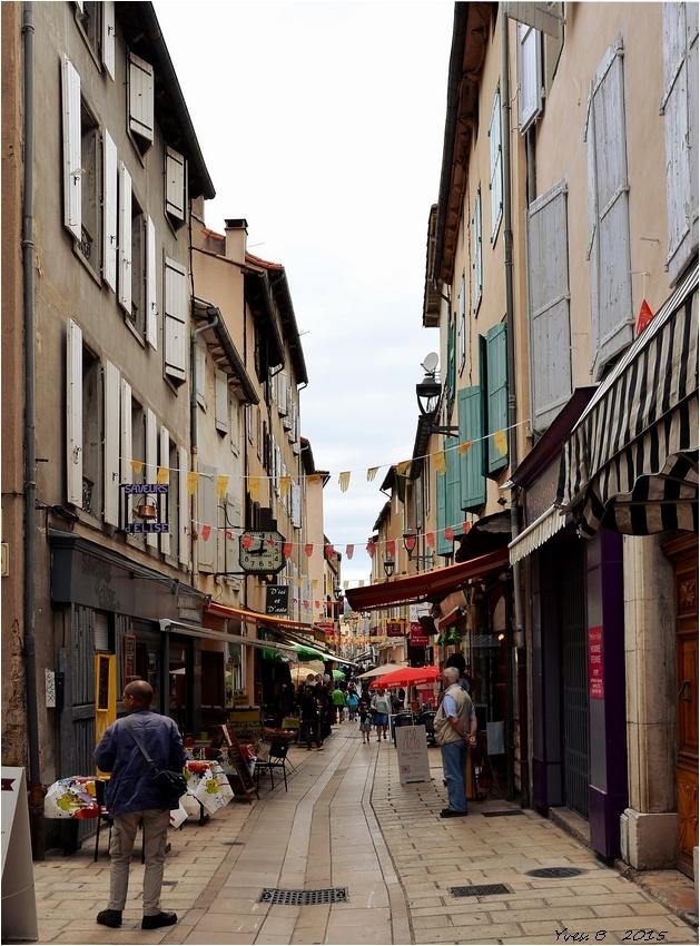 Les rues de Millau