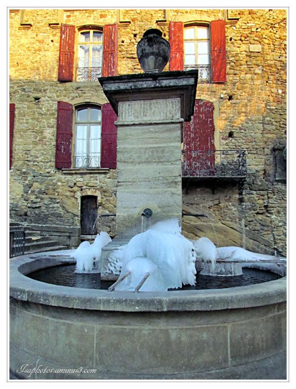 Fontaine, je ne boirai pas de ton eau ...