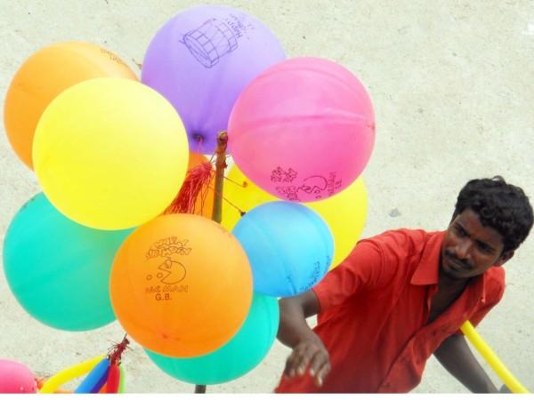 Balloons, Chennai, India