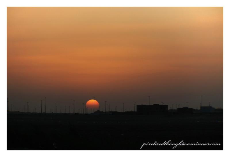 Sunset Al Baher