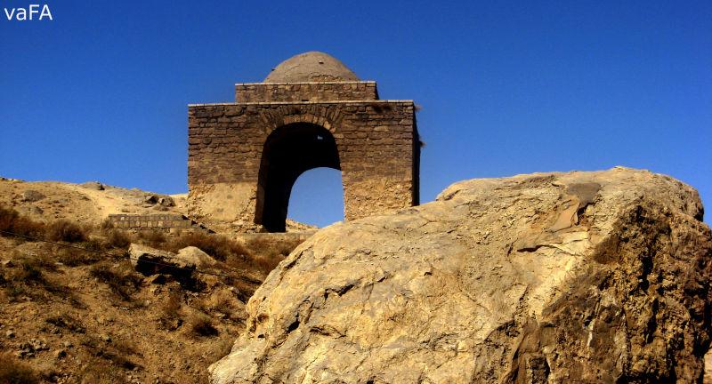 Niasar Fire Temple.Iran