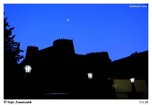 Black Castle & Moon.Iran