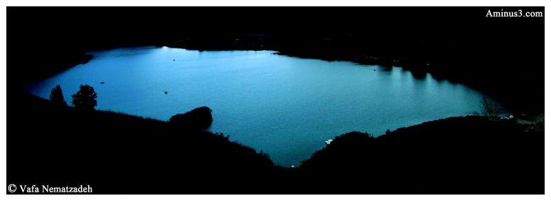 Valasht Lake.Iran