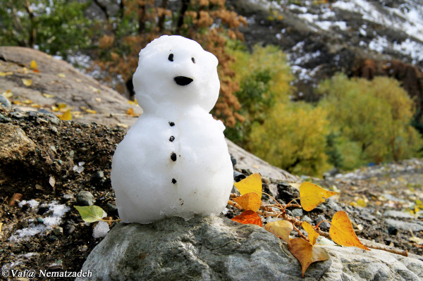 The Little Snowman.Iran