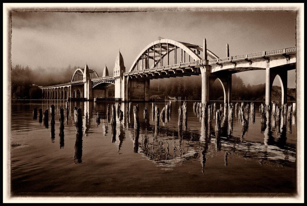 Bridge designed by Conde McCullough
