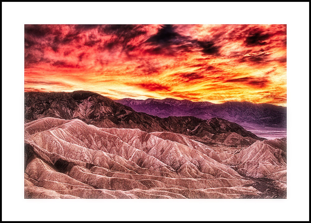 Zabriskie Point Sunset