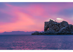 Baja Sunset at Elephant  Rock