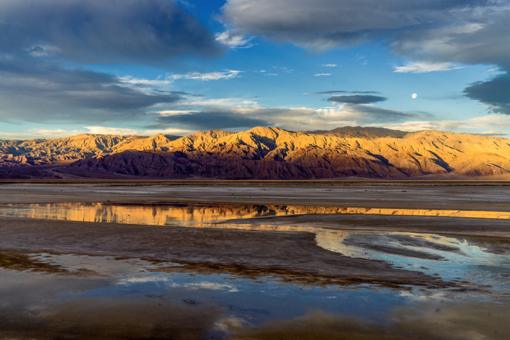 Reflections in Death valley