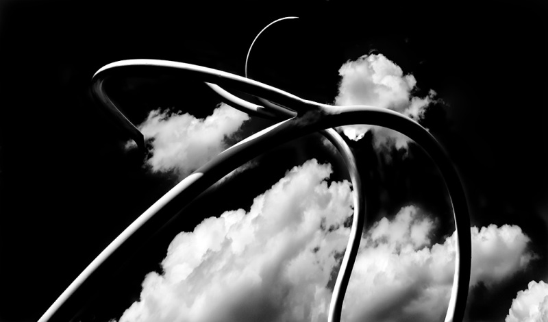 Schulpture and Clouds