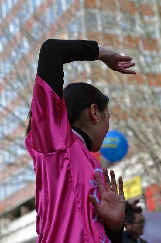 Danse martiale