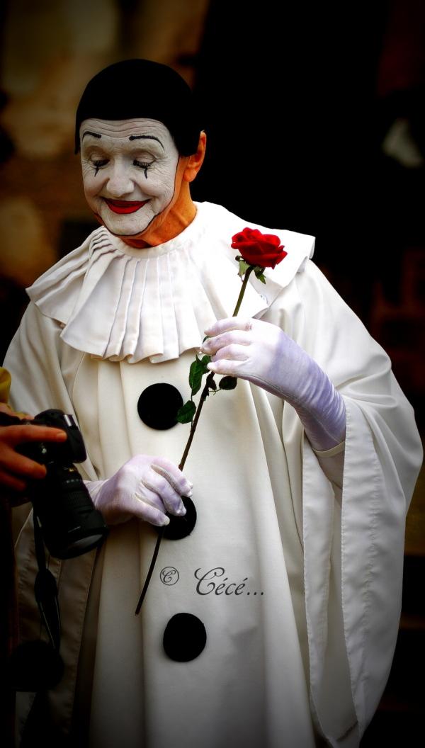 ...Pierrot se trouve beau!!...