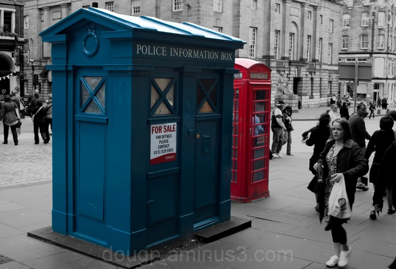 Psst' anyone want to buy a Tardis