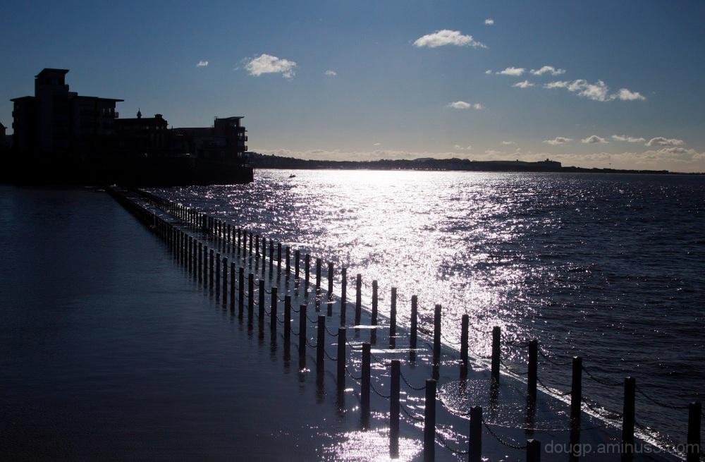 Marine lake causeway